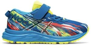 Asics Pre-Noosa Tri 13 PS Boys' Toddler-Youth Running Blue/Yellow Size 1