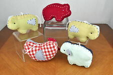 Pottery Barn Kids Crib Mobile Farm Animals Replacement Animals Discontinued