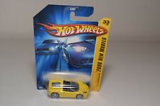V 1:64 424 HOTWHEELS FERRARI F430 F 430 SPIDER YELLOW MINT ON LONG CARD