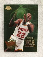 "CLYDE DREXLER INSERT ""ATOMIC"" 1995 HOUSTON ROCKETS SKYBOX BASKETBALL CARD"