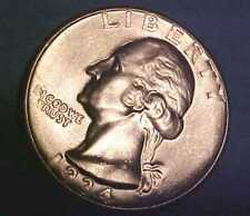 1934-D Washington Quarter ~Smok'n Gem Uncirculated ~Bright White ☆Make An Offer☆
