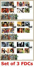 More details for 2021 dc comics collection batman smilers *set of 3* fdc first day covers