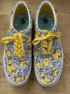 Vans X The Simpson's Mens Era Itchy and Scratchy Canvas Shoes Size 12