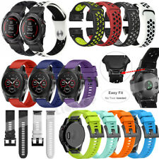Quick Install Watch Band Strap For Garmin Fenix 3 5 5X /Descent Mk1 / D2 Charlie