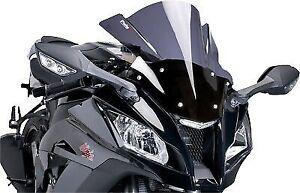 Racing Windscreen PUIG Dark Smoke 5251F For Honda VFR1200F ABS VFR1200FD DCT