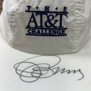 Jimmy Connors Autographed  Hat The AT&T Challenge Atlanta Tennis Tournament 90s