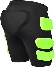 Protective Padded Shorts for Snowboard Ski Skate, 3D Protection Padded (Size:M)