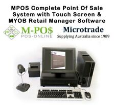 "New POS System, Win10, MYOB Retail Manager v12.5, 15"" Touch screen etc Windows10"
