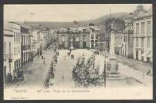 Spain Postcard Tenerife Santa Cruz Plaza De La Constitucion