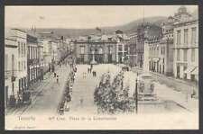 Spain Postcard Tenerife Santa Cruz Plaza De La Constitucion L@@K