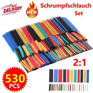 Schrumpfschlauch Set Heat Shrink Tube Schrumpfschläuche Sortiment 12 Size