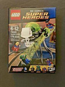 Lego 76040 Brainiac Attack, Martian Manhunter, Superman, Supergirl, NISB