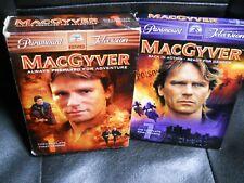 MacGyver Season 1 & Season 7 Dvd Tv Series Box Set