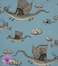 Alexander Henry Nicole's Prints in the Clouds Dragons 100% Cotton Fabric
