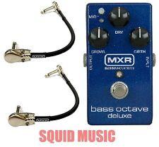 MXR Dunlop M288 Bass Octave Deluxe Effects Pedal M-288 ( 2 FREE MXR CABLES )