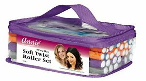"Annie 42-Piece Soft Twist Roller Set (7"" Long) - 7 Different Diameters - 6 Each"