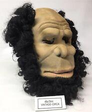 *RARE* DON POST Studios Neanderthal Cave Man Latex Halloween Mask Vintage 1982