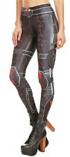 Black Widow Suit up Yoga Pants One Size Fits Most Novelty Leggings