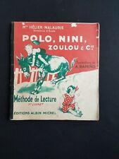 Polo, Nini, Zoulou et Cie - Méthode de lecture 1er livret