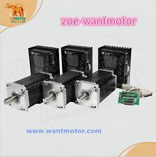 HOT!USA free!Wantai CNC Kit 3Axis Nema42 Stepper Motor 110BYGH150-001 150mm 3256
