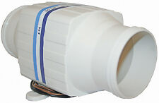 Inline Bilge Blower TMC 12 Volt 4.5 Amp 3.45 Cubic Metres Per Minute