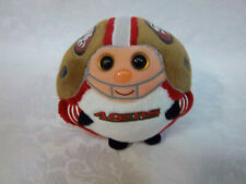 "Ty San Francisco 49rs 5"" Ballz Plush Soft Toy Stuffed Animal"