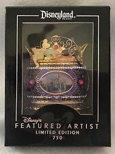 NEW Disney DLR Jumbo Artist Tinkerbell & Castle Pin by Monty Maldovan LE 750