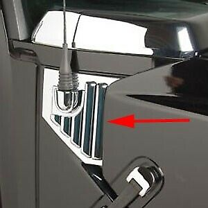 HUMMER H2 SIDE AIR VENT COVERS CHROME (Antenna) (2 pcs)