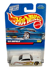 Vintage Hot Wheels 59 Impala 1000 Chevrolet Die Cast Metal Collectible New