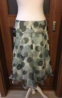 Phase Eight VintageSilk Chiffon Sequin & Beaded Flippy Skirt Size UK 10 BNWT