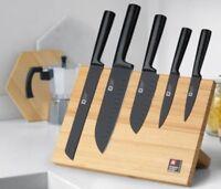 Messerset, Richardson Sheffield - 5-teiliger Messerblock NOX Magnetisch - B Ware
