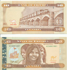 Eritrea - 10 Nakfa 2012 (2014) UNC - Pick New