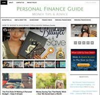 * PERSONAL FINANCE * turnkey affiliate website business for sale w/ AUTO CONTENT