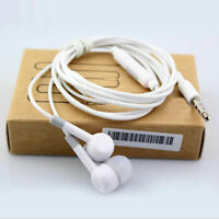 Hot 35mm InEar Earbud Mic Stereo Headset Earphones For Samsung Y1B0 Android X4Z3