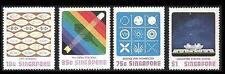 Singapore stamps - 1977 Science Centre 4v MNH set space, technology, atoms