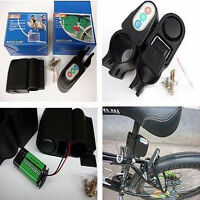 Bike Alarm Lock Bicycle Motorbike Moped Cycling Security Alarm Sound Loud