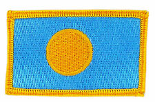 FLAG PATCH PATCHES PALAU  IRON ON COUNTRY EMBROIDERED WORLD SMALL
