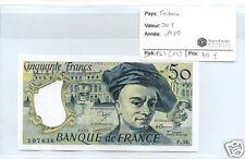 FRANCE 50 FRANCS QUENTIN DE LA TOUR 1989 ALPHABET P.56