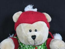 STARBUCKS BARISTA BEAR CHRISTMAS OUTFIT THE MOUSE WRITER TEDDY PLUSH STUFFED TOY