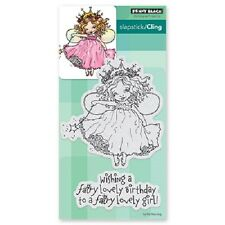 PENNY BLACK RUBBER STAMPS SLAPSTICK CLING FAIRY BIRTHDAY NEW cling STAMP