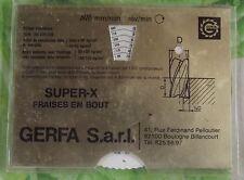 Ancien calculateur de Côte: métallurgie le fraisage pour différents métaux GERFA