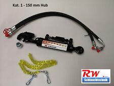 Hydraulischer Oberlenker Kat. 1, 150 mm Hub, gest. Rückschv., incl. Schläuche