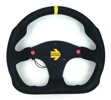 Genuine Momo Model Mod.30 black suede steering wheel 320mm. Track race rally etc
