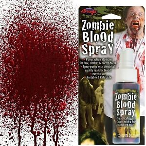Fake Blood Spray Paint Halloween Party Fancy Dress Theatrical Dress up