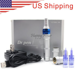 Electric Rechargeable Wireless Ultima-A6 Dr. Pen Derma Pen Micro Needle Therapy