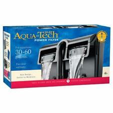 Aqua Tech Power Aquarium Filter w/ 3-Step Filtration For 30 to 60 gal Aquarium