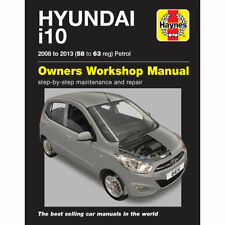 Hyundai i10 1.2 Petrol 2008-13 (58-63 Reg) Haynes Workshop Manual