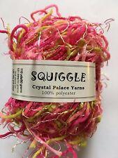 Crystal Palace Yarns Squiggle #432 Strawberries & Limes -Pinks Green Carryalong