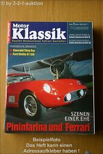 Motor Klassik 3/93 Chevy Sing Ray Ford Shelby GT 350