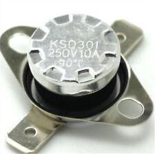 Thermoschalter Klixon Thermosicherung Bimetallschalter KSD301 NC 90°C//75°C VERT